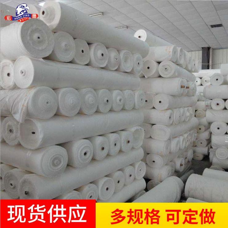 全棉60*60白胚坯布 普梳平纹 交织衬衫工装面料白布